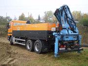 Услуги манипулятора (гидроманипулятора). Погрузка и перевозка грузов.
