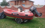 Лодка (катер) RIB ARROW-4 с двигателем и лафетом. Срочно!