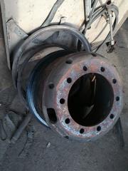 Диски для МАЗ разборные R20 на шпильках,  Б/У под шины 11, 00 и 12, 00R20