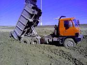 Услуги самосвала TATRA 20 тонн , полный привод