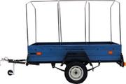 Прицеп грузовой БЕЛАЗ 8123 к легковым автомобилям